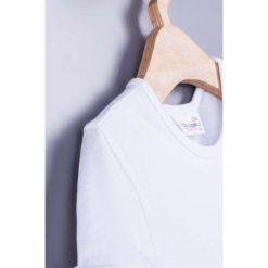 Coccodrillo - Top dziecięcy 104-134 cm. Białe bluzki dziewczęce marki COCCODRILLO, m, z bawełny, z okrągłym kołnierzem. Za 29,90 zł.
