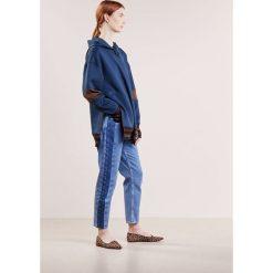 Bluzy rozpinane damskie: By Malene Birger MEANA Bluza z kapturem blue velvet