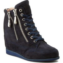 Sneakersy damskie: Sneakersy OLEKSY – 2111/859/000/000/000 Ciemny Granat