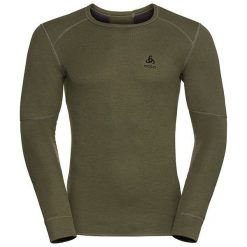 Odlo Koszulka męska Shirt l/s crew neck X-WARM brązowa r. L (155162/40210/L). T-shirty męskie marki Odlo, l. Za 165,76 zł.
