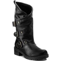 Kozaki SERGIO BARDI - Attimis FW127274217KD 101. Czarne buty zimowe damskie Sergio Bardi, z materiału, na obcasie. W wyprzedaży za 249,00 zł.