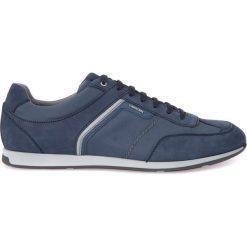 Trampki męskie: Skórzane buty sportowe U CLEMET B