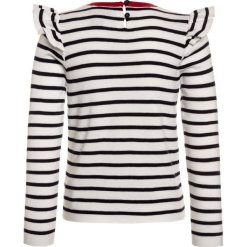 Swetry dziewczęce: Polo Ralph Lauren STRIPE Sweter clubhouse cream/hunter navy