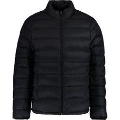 Abercrombie & Fitch PUFFER MOCK Kurtka puchowa black. Niebieskie kurtki męskie puchowe marki Abercrombie & Fitch. W wyprzedaży za 342,30 zł.