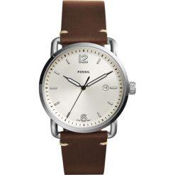 Zegarek FOSSIL - The Commuter 3H Date FS5275  Dark Brown/Silver/Steel. Różowe zegarki męskie marki Fossil, szklane. Za 379,00 zł.