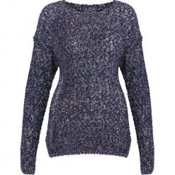 Granatowy Sweter Something Pure. Niebieskie swetry klasyczne damskie Born2be, na jesień, uniwersalny. Za 59,99 zł.
