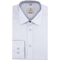 Koszula wincode 2621 długi rękaw custom fit niebieski. Szare koszule męskie marki Recman, m, z długim rękawem. Za 169,00 zł.