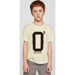Odzież chłopięca: Mango Kids – T-shirt dziecięcy 110-164 cm