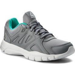 Buty Reebok - Trainfusion Nine 3.0 CN0978 Shadow/White/Silver/Teal. Niebieskie buty do fitnessu damskie marki Salomon, z gore-texu, na sznurówki, gore-tex. W wyprzedaży za 159,00 zł.