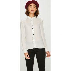 Answear - Koszula. Szare koszule damskie marki ANSWEAR, l, z dzianiny, casualowe, z długim rękawem. W wyprzedaży za 79,90 zł.