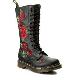 Glany DR. MARTENS - Vonda 12761001 Black. Czarne buty zimowe damskie Dr. Martens, z materiału. W wyprzedaży za 589,00 zł.