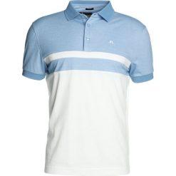 J.LINDEBERG KYE POLY Tshirt z nadrukiem gentle blue melange. Niebieskie koszulki polo marki Tiffosi. W wyprzedaży za 356,15 zł.
