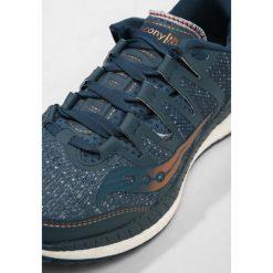 Saucony LIBERTY ISO Obuwie do biegania Stabilność blue/denim/copper. Szare buty do biegania damskie Saucony, z denimu. W wyprzedaży za 531,30 zł.