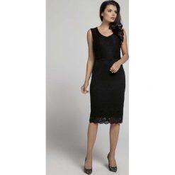 Czarna Dopasowana Sukienka Koronkowa bez Rękawów. Czarne sukienki koronkowe marki Mohito, l, z dekoltem na plecach. W wyprzedaży za 125,46 zł.