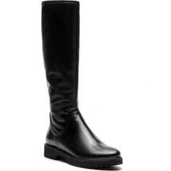 Kozaki SAGAN - 3094 Czarne Lico. Czarne buty zimowe damskie Sagan, ze skóry, na obcasie. Za 439,00 zł.