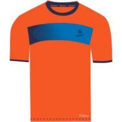 T-shirty męskie: Huari Koszulka męska Hubi T-shirt Red Orange/ Medieval Blue r. L