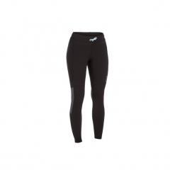 Legginsy UV surfing z neoprenu 900 damskie. Czarne legginsy OLAIAN, s, z elastanu. Za 79,99 zł.