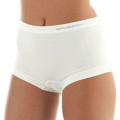 Bokserki damskie: Brubeck Bokserki damskie Comfort Wool białe r.L (BX10440)