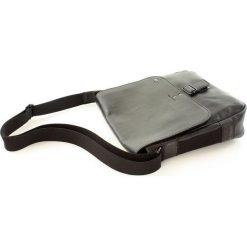 Torby na laptopa: Torba skórzana czarna RUN 2