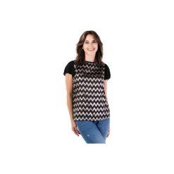 Bluzka standardowa klasyczna we wzory. Szare bluzki na imprezę marki TXM. Za 29,99 zł.