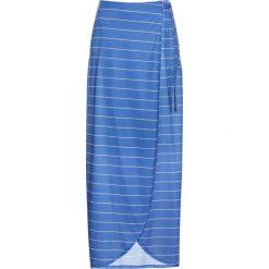 Spódnica z dżerseju bonprix lodowy niebieski - biały w paski. Niebieskie spódnice wieczorowe bonprix, w paski, z dżerseju. Za 79,99 zł.