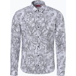 HUGO - Koszula męska – Ero3-W, czarny. Niebieskie koszule męskie marki HUGO, m, z bawełny. Za 429,95 zł.