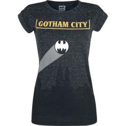 Bluzki asymetryczne: Batman Gotham City Koszulka damska odcienie ciemnoszarego