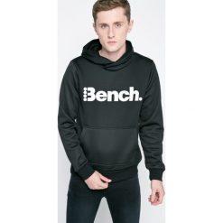 Bench - Bluza. Czarne bluzy męskie rozpinane marki Bench, l, z nadrukiem, z bawełny, z kapturem. W wyprzedaży za 149,90 zł.
