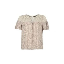 Bluzki Vero Moda  FAUNA. Niebieskie bluzki damskie marki Vero Moda, z bawełny. Za 95,20 zł.