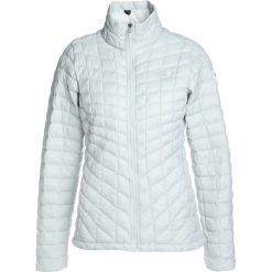 The North Face THERMOBALL Kurtka Outdoor vaporous grey. Różowe kurtki damskie turystyczne marki The North Face, m, z nadrukiem, z bawełny. W wyprzedaży za 371,60 zł.