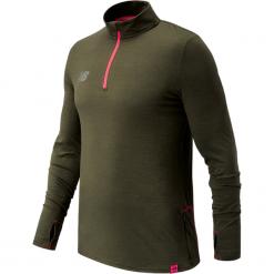 Bluza treningowa MT732026MTH. Brązowe bluzy męskie rozpinane marki New Balance, m, z elastanu, długie. W wyprzedaży za 189,99 zł.