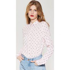 Koszula z wiskozy - Zielony. Niebieskie koszule damskie marki House, m. W wyprzedaży za 39,99 zł.