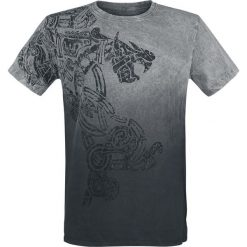 T-shirty męskie: Outer Vision Dragon Tattoo T-Shirt szary