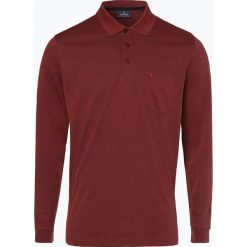 Ragman - Męska koszulka polo, pomarańczowy. Brązowe koszulki polo Ragman, m, z bawełny. Za 229,95 zł.