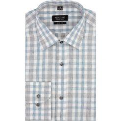 Koszule męskie: koszula versone 2741 długi rękaw slim fit niebieski