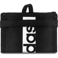 Portfele męskie: Duży Portfel Męski adidas – Lin Per Wallet S99979 Black/Black/White