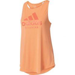 Adidas Koszulka damska Category Tank pomarańczowa r. L (BP8522). Brązowe topy sportowe damskie Adidas, l. Za 70,64 zł.