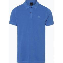 Koszulki polo: BOSS Casual – Męska koszulka polo – Prime, niebieski