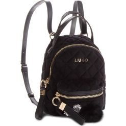 Plecak LIU JO - S Backpack Brentave N68066 T9093 Nero 22222. Czarne plecaki damskie Liu Jo, z materiału, klasyczne. Za 469,00 zł.