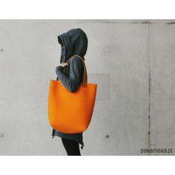 Torebka filcowa pomarańczowa. Brązowe torebki klasyczne damskie Pakamera, z wełny. Za 299,00 zł.