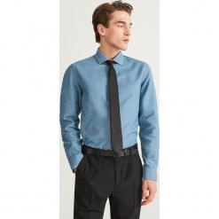 Wzorzysta koszula slim fit - Turkusowy. Niebieskie koszule męskie na spinki Reserved, m. Za 139,99 zł.