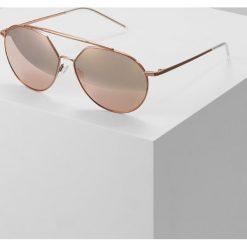 Emporio Armani Okulary przeciwsłoneczne brown. Brązowe okulary przeciwsłoneczne damskie lenonki Emporio Armani. Za 779,00 zł.
