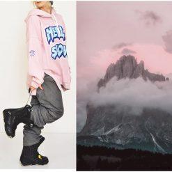 Bluza Hella Snow Hoodie Pink. Białe bluzy dziewczęce rozpinane Pakamera. Za 269,00 zł.