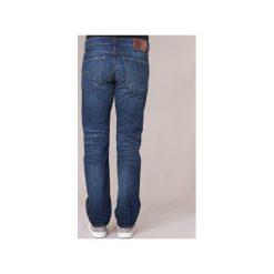 Jeansy straight leg G-Star Raw  3301 STRAIGHT. Czarne jeansy męskie marki G-Star RAW, l, z materiału, retro. Za 396,80 zł.