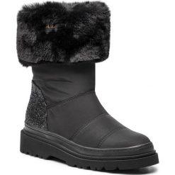 Kozaki GUESS - FLVFE4 FAB10 BLACK. Czarne buty zimowe damskie Guess, z materiału. Za 669,00 zł.
