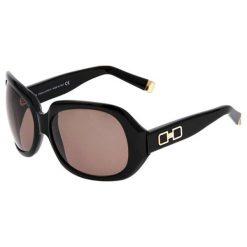 """Okulary przeciwsłoneczne damskie: Okulary przeciwsłoneczne """"0019 01J S/G"""" w kolorze czarnym"""