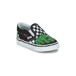 Tenisówki Dziecko  Vans  CLASSIC SLIP-ON MARVEL. Czarne buty sportowe chłopięce marki Vans, z motywem z bajki. Za 179,00 zł.