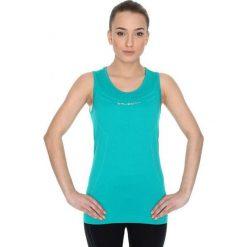 Bluzki damskie: Brubeck Koszulka damska termoaktywna  Athletic W niebieska r. S (TA10200)
