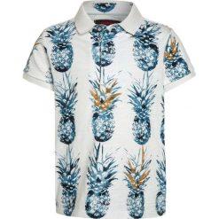 Bluzki dziewczęce bawełniane: Catimini NOMADE ANANAS Koszulka polo white
