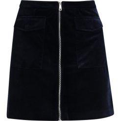 Spódniczki: Marc O'Polo DENIM SKIRT ZIPPER Spódnica mini scarab blue